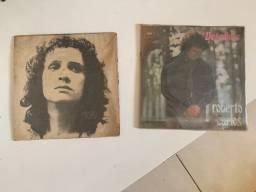 02 Discos de vinil 1972  de Roberto Carlos