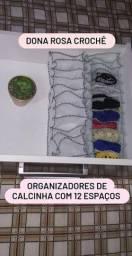 Organizadores de calcinhas feitos em tnt com 12 espaços