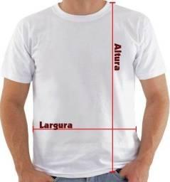 Camisa malha PP para sublimação