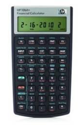 Título do anúncio: Calculadora Financeira hp 10BII+. Por R$ 170,00