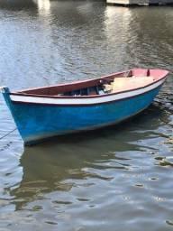 Título do anúncio: Vendo barco de madeira 6.5m