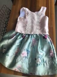 Petit cherie TAM 8 roupas infantil Vestido , casaco, bota