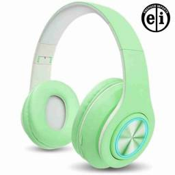 Título do anúncio: Fone De Ouvido Bluetooth Macaron P33 Verde - Entrega Grátis