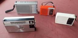 radios portáteis para colecionadores.