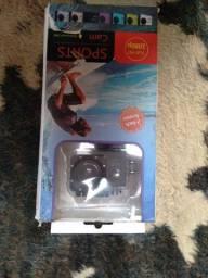 Mini Câmera 1080p para esportes e a prova da água!