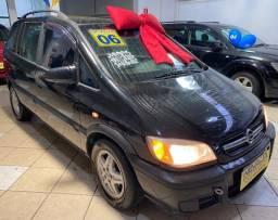Título do anúncio: Chevrolet Zafira 2006 2.0 Flex Comfort Preta Estudo Troca e Financio