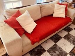 Vendo 2 sofás usados (2 e 3 lugares)