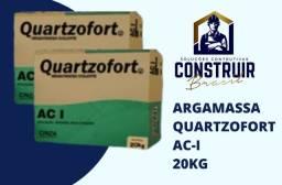 Título do anúncio: Argamassa Quatzofort AC-I 20 Kg  por apenas R$9,90