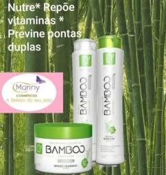 Kit Bamboo * Nutrição e restauração dos fios