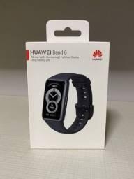 Smartwatch Huawei Band 6 / A prova d'agua / Lacrado / Lançamento