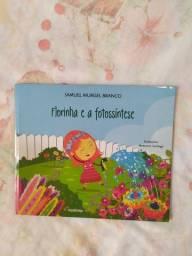 Livro infantil Florinha e a fotossíntese