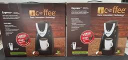 Cafeteira elétrica café expresso nova na caixa entrega