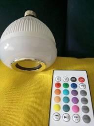 Título do anúncio: Lâmpada led bluetooth 16 cores