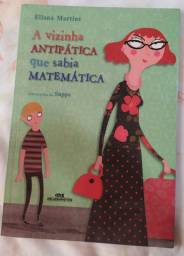 Livro Infantil  A vizinha antipática que sabia matemática