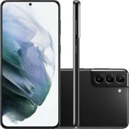 Samsung Galaxy S21+ Plus 128gb 5g Tela 6.7 Prata Preto Lacrado NF