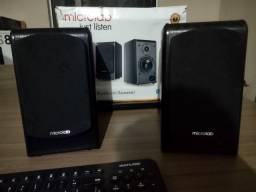 Microlab b77 bluetooth perfeita para home Studio