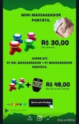 NATUG Gel Massageador Extra Forte mais Mini Massageador Portátil