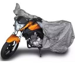 Título do anúncio: promoção-capas para cobrir moto contra sol chuva e poeira forrada