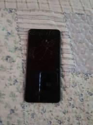 Samsung A20 com display queimado.