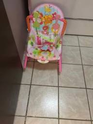 Cadeira menina fisher price