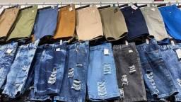 Título do anúncio: Bermuda jeans atacado