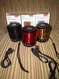 Mini speaker (mini caixa de som portátil)