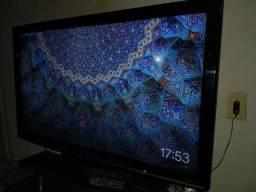 Vendo tv 42 polegadas Panasonic+conversor digital+cromecast original.