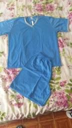 Pijamas masculinos infantil e adulto