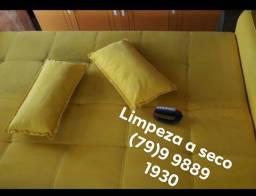 Lavagem a seco de tapetes, sofás, colchões em geral