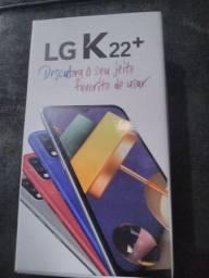 LG k 22 64g semi novo