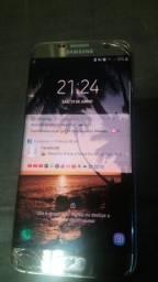S 7 edg Samsung dourado