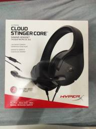 Título do anúncio: Headset Gamer HyperX Cloud Stinger Core Preto