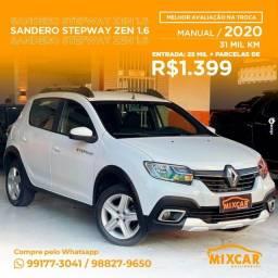 Título do anúncio: Renault Sandero Stepway 1.6 2020! Imperdível!
