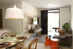 Título do anúncio: Vendo flat terreo 2 quartos frente piscina no Oka Beach Residence em Muro Alto
