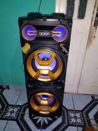 Caixa De Som Torre Double Sp360 1600W Pulse