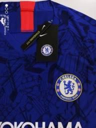 Camisa Chelsea player 2019 rara, TAM G