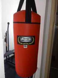 Saco de pancada punch pouquíssimo uso