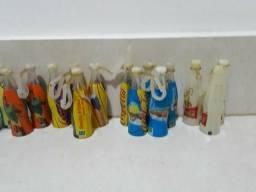 Coleção mini garrafinhas