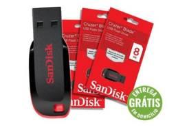 Pen drive 16gb sandisk z50 cruzer blade - entrega grátis