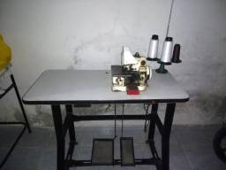 Máquina De Costura Overlock Semi-industrial C/ Motor Grande+mesa - Singer