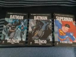 Coleção Graphic Novel DC, nº 01 à 03