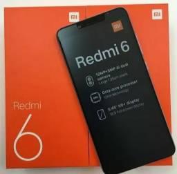 Celular Xiaomi Redmi 6 64gb 4gb Ram Global Tela 5.45 Lacrado