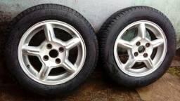 Rodas 14 e pneus seminovos