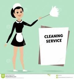 Procuro serviço de empregada doméstica