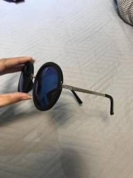 Óculos de sol lente azul