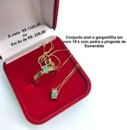 Conjunto Gargantilha e anel