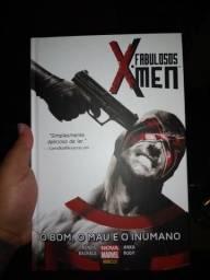HQ Fabulosos X-men- o bom o mau e o inumano