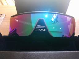 Oculos de Sol Evoke Futurah A11S Black Matte Gun Green Flash Mirror 1488f10da9