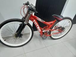 Bike Totem rebaixada.troco por motorizadas