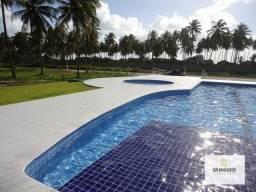 Lote de 450 m², cond. fechado com área de lazer completa e pier na Massagueira,só 150 mil!